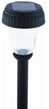 Black Solar Path Light - 12-Pieces