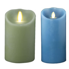 "7"" Luminara Flameless Candles"