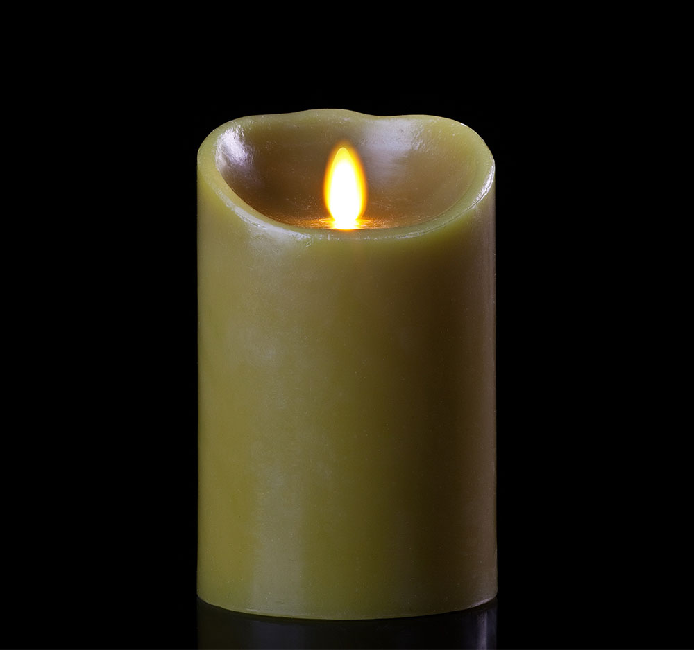Sage Flameless Candles - 9