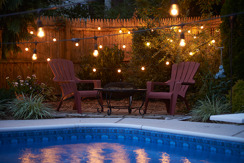 Commercial String Light Strands For Heavy Duty Patio Use Outdoor Lights