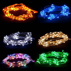 Ultra Thin LED Battery Operated String Lights