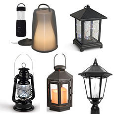 Led Lanterns Battery Operated Candles