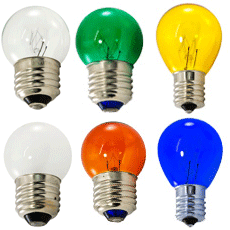 Globe Light Bulbs - Incandescent