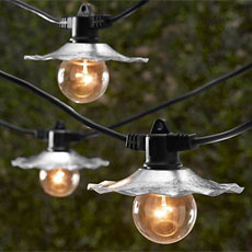Commercial grade outdoor string lights oogalights patio lights bistro cafe string lights aloadofball Images