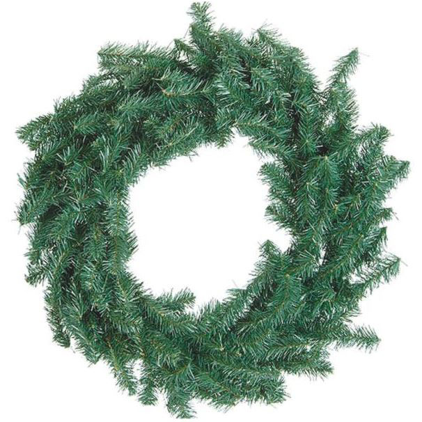 "30"" Canadian Pine Christmas Wreath"