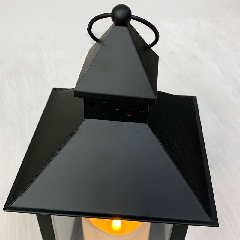 Led Metal Amp Resin Battery Operated Flameless Candle