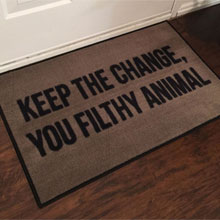 2' x 3' Home Alone Christmas Novelty Door Mat