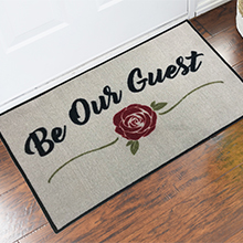 Be Our Guest Welcome Door Mat - 2' x 3' GM-19026732