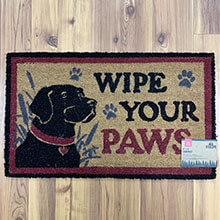 Labrador (wipe your paws) COir Mat                           EG2542