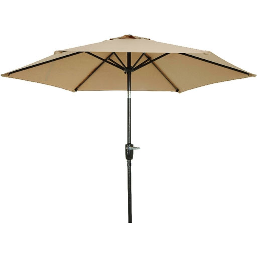 7 5 Tan Canopy Aluminum Patio Umbrella