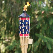 5' Stars & Stripes Patio Torch