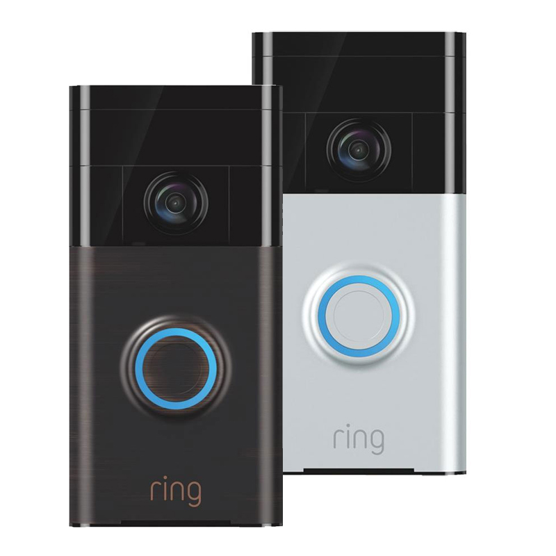 Ring Wireless Video Doorbell - Satin Nickel 502038