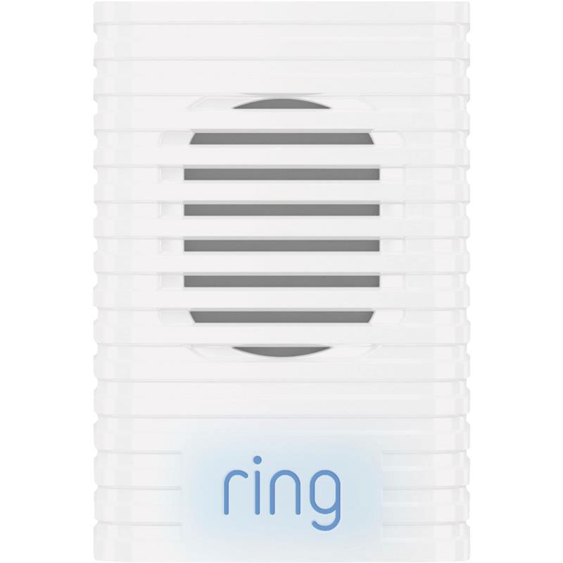 Ring Plug-In Video Doorbell Chime - White 502050