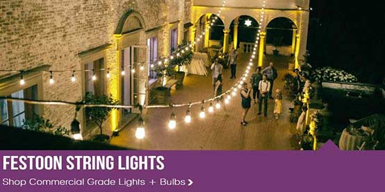Party Amp String Lights For Holidays Commercial Globe