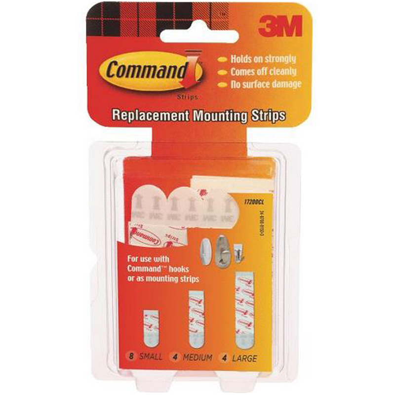 Command Replacement Adhesive Strip 617164