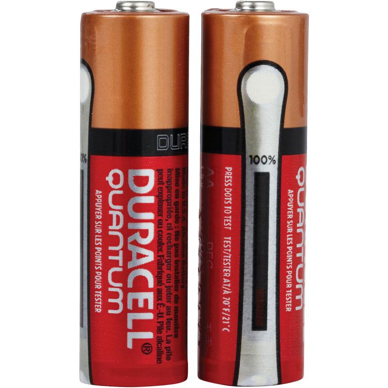 6 Pack Duracell Quantum AA Alkaline Batteries