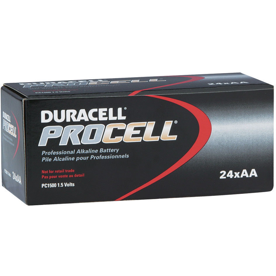 AA Duracell Batteries - ProCell PC1500