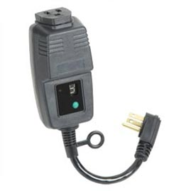 Single Outlet Outdoor Digital Timer W Photocell String