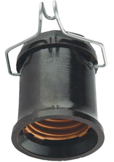 Leviton Pin Type Single Circuit Outdoor Socket Pin - Medium Base