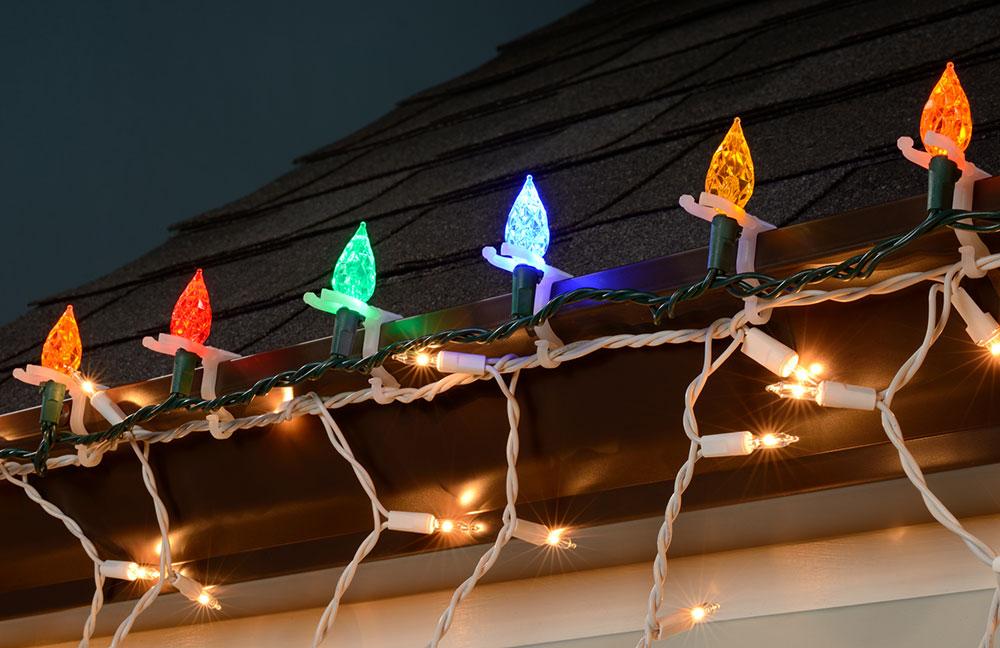 All Purpose String Light Holders 100 Pack String