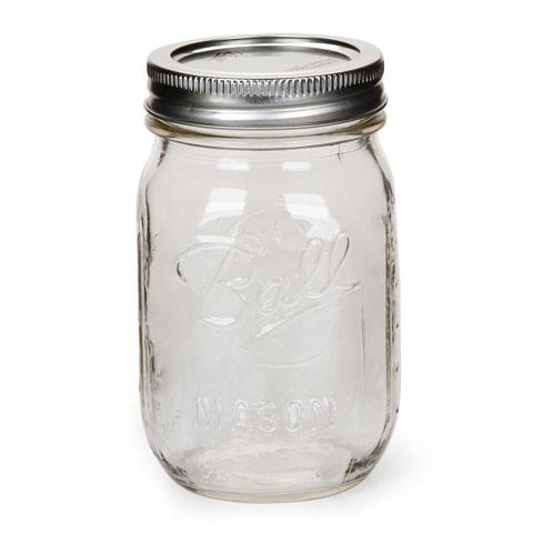 1 Pint Mason Jar Canning Jar