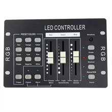 LED Wall Washer Controller - 3-Channel DMX-RGB-3