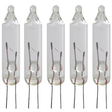 clear replacement light bulb 6v 5 lights