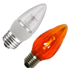 Torpedo/Flame LED Light Bulbs