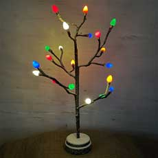"19.7"" LED Lighted Tree - 20 Warm White Lights GC2440980"