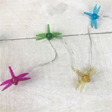 Dragonfly LED Micro String Lights - Battery Operated DE-70381DFLY