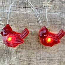 Cardinal Fairy Lights - Battery Operated C5537-CARDINAL