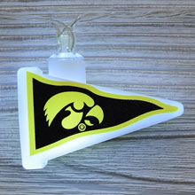NCAA Iowa Hawkeyes LED Pennant String Lights - Battery Operated TP-NCAA/IOWA