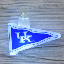 NCAA Kentucky Wildcats LED Pennant String Lights - Battery Operated TP-NCAA/KEN