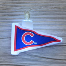 MLB Chicago Cubs LED Pennant String Lights - Battery Operated                            TP-MLB/CUB