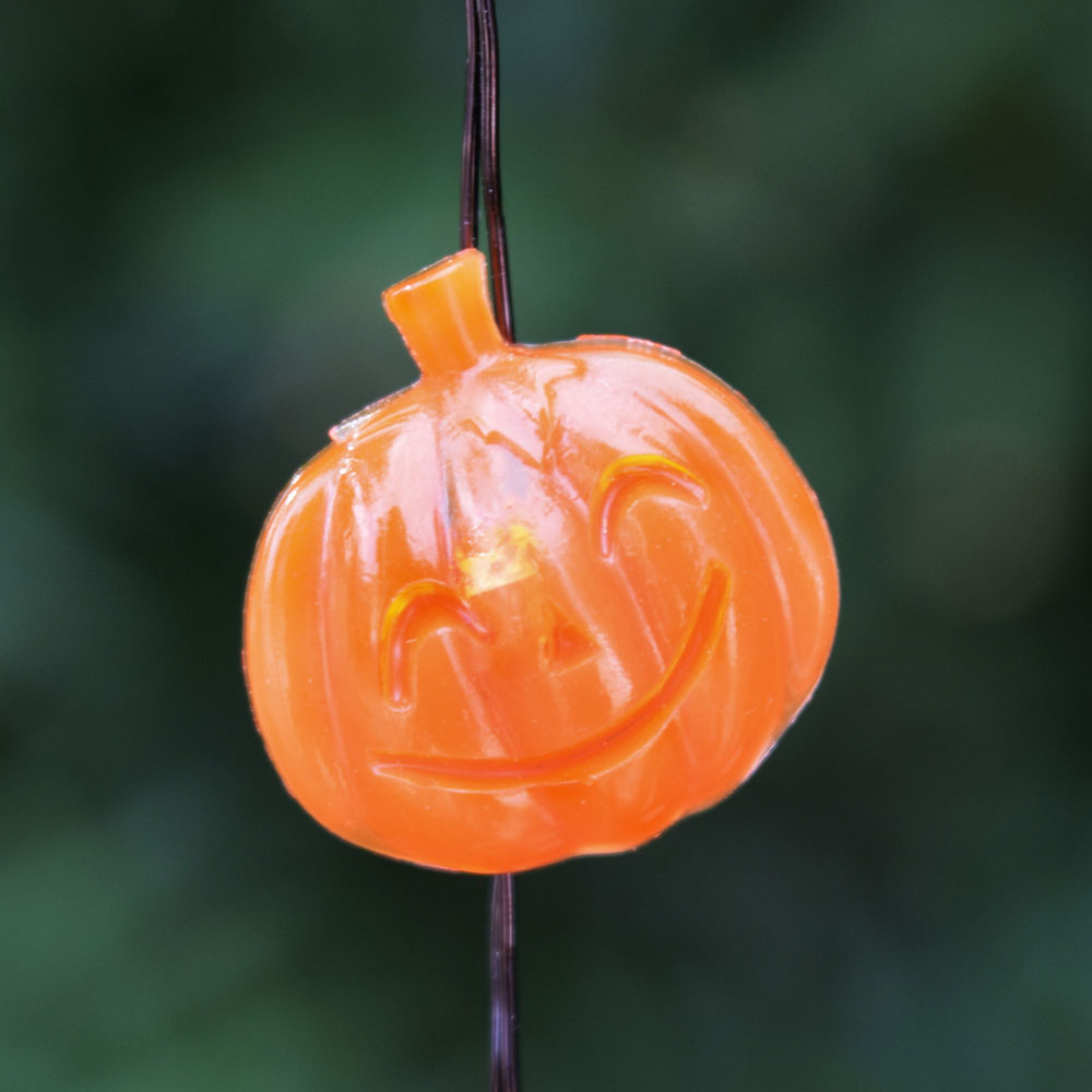 Led Halloween Pumpkin Battery Operated Mini String Lights