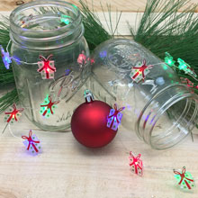 Multicolored Gift LED Battery Operated String Lights
