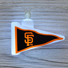 MLB San Francisco Giants LED Pennant String Lights - Battery Operated