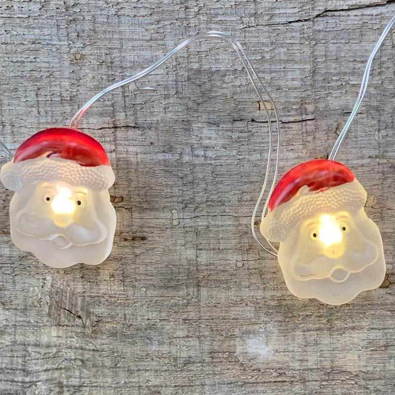 Santa Claus Christmas Fairy Lights - Battery Operated C5537-SANTA
