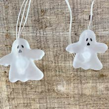 Ghost Halloween Fairy Lights - Battery Operated HW1738-GHOST