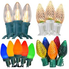 String Light Strands C3 C7 C9 Amp Globe Stringlight Bulbs