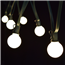 Commercial Globe Frosted String Lights