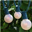 50' Commercial Globe Lights - Frosted