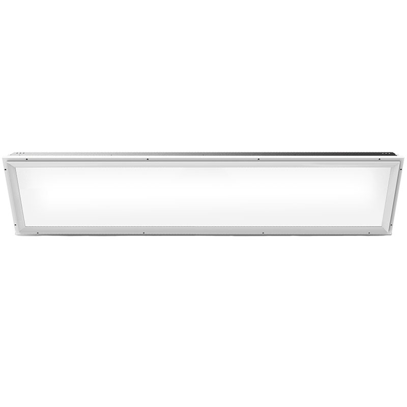 1' x 4' Flat-Panel White LED Troffer Light