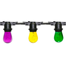 Mardi Gras Festive String Light Kit - 100 ft Light String