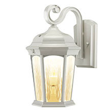 Integrated LED Lantern Fixture - Water Glass Lens EFL-130W-MD