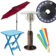 Patio Umbrellas & Accessories