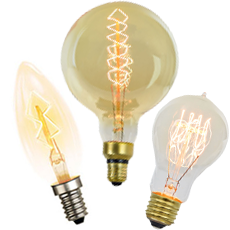 Vintage Industrial Style Light Bulbs