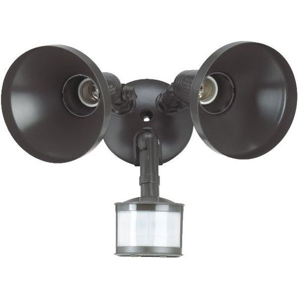 240 Degree Bronze Motion Floodlight