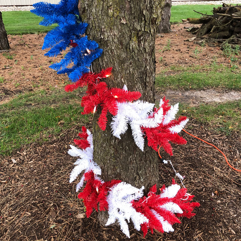 9 ft. Patriotic Garland GC437560