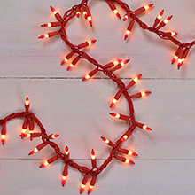 Peppermint Cluster Light Set - 150L/Garland                  DR-620238